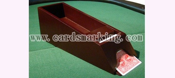 Blackjack Shoe Poker Scanning Camera For Normal Cards