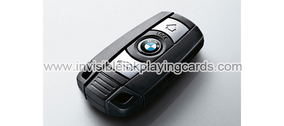 Focus On Car Key Poker Scanner