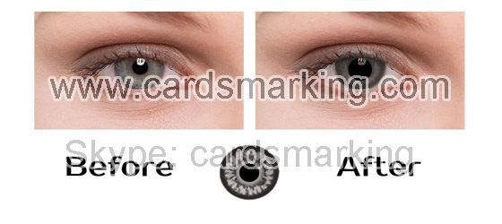 Grey Eyes Infrared Contact Lenses For Sale