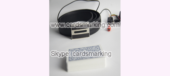 Leather Belt Poker Scanning Camera
