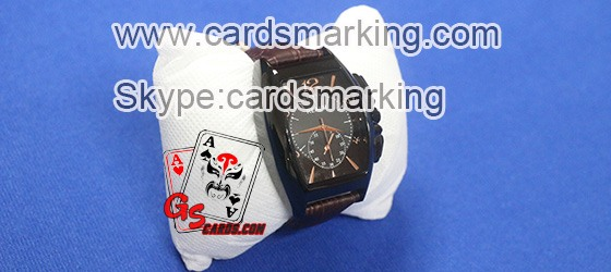 Marked Poker Cards Wallet With Three Scanner Reader