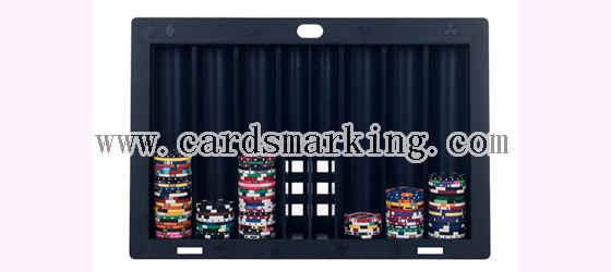 Marked Barcode Decks Chip Tray Winner Scanning System