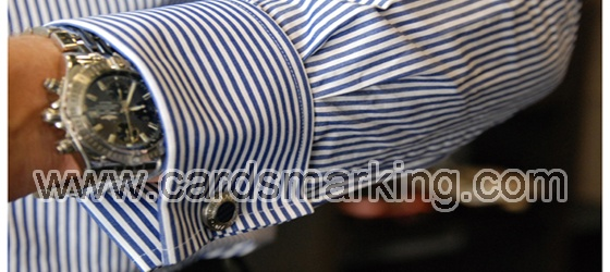Shirt Cuff Button Barcode Marked Cards Reader