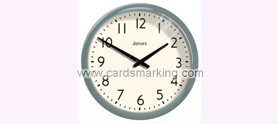 Barcode Marked Decks Wall Clock Scanning Camera
